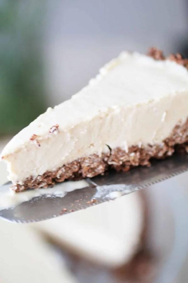 Torta fredda al burro di arachidi_Dolce Senza Zucchero (8)