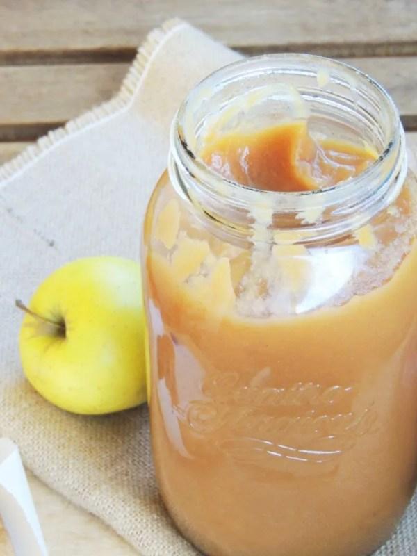 Apple Butter_Burro di Mele_Dolce Senza Zucchero (2)