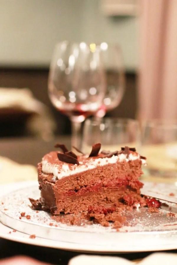 Torta al Cioccolato e Amarene (7)