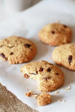Biscotti con Gocce di Cioccolato e Farina di Avena2