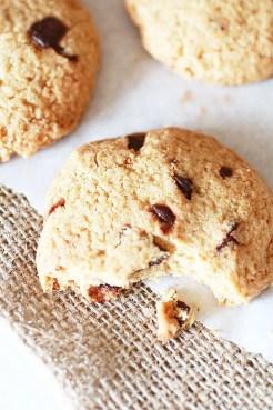 Biscotti con Gocce di Cioccolato e Farina di Avena3