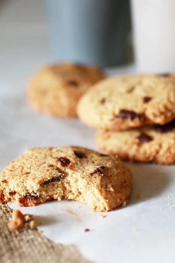 Biscotti con Gocce di Cioccolato e Farina di Avena8