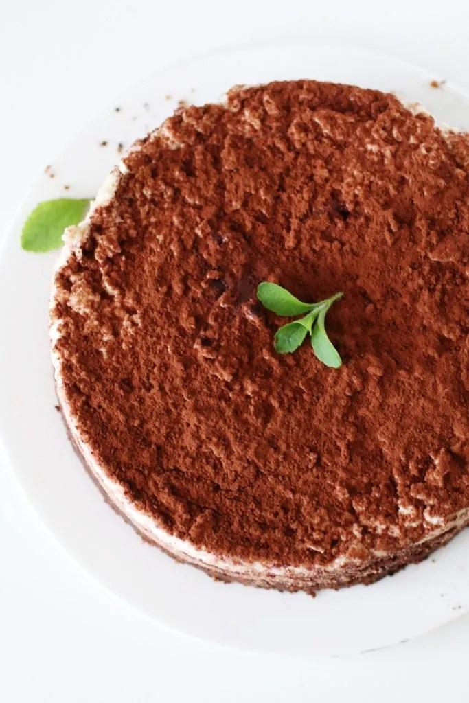 Torta Tiramisù Senza Zucchero e Senza Glutine (1)
