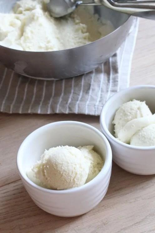 Gelato alla Crema Senza Latte e Senza Zucchero di www.dolcesenzazucchero.com