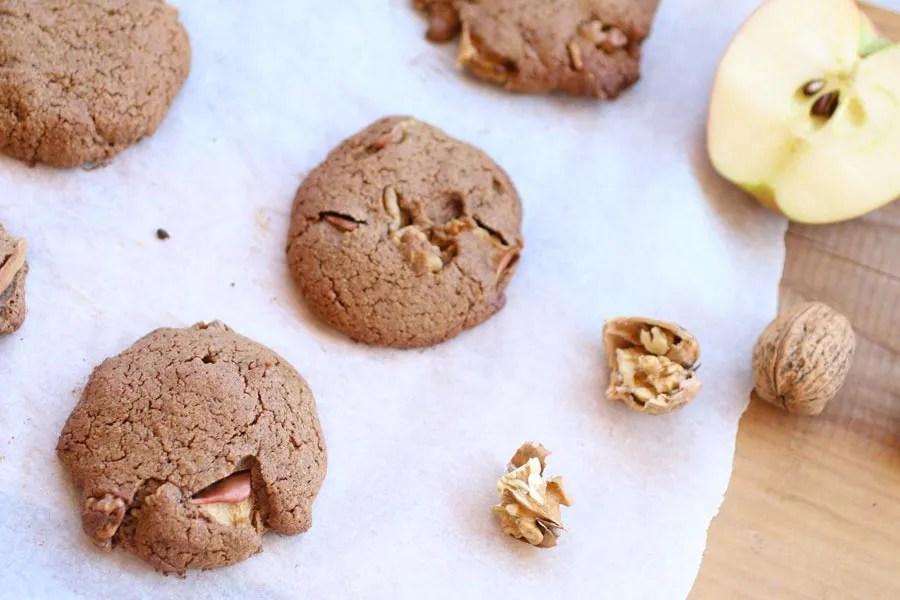 Biscotti alle Mele e Cannella con Farina di Teff Senza Zucchero
