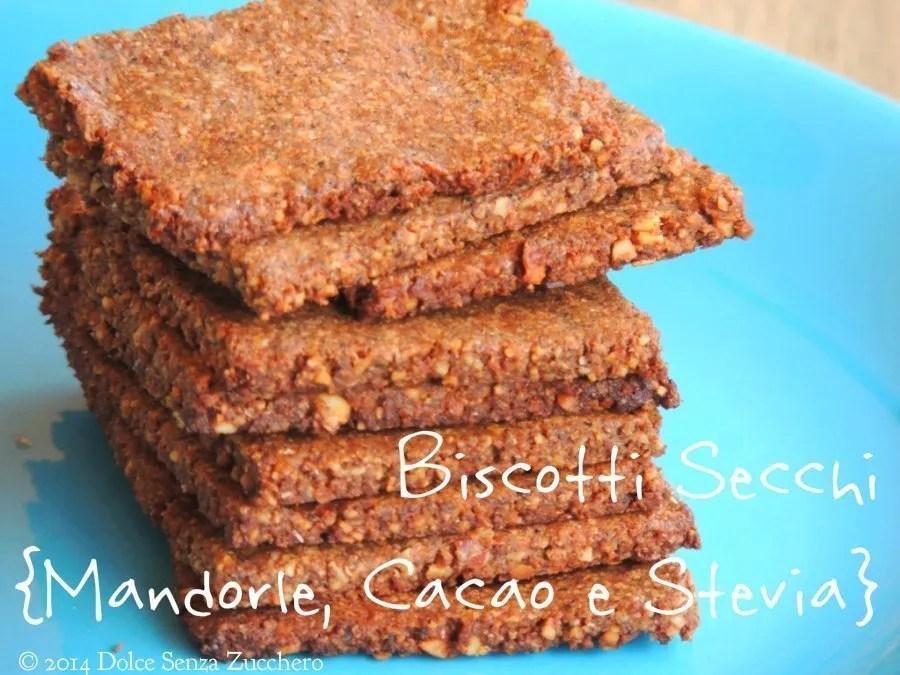 Biscotti secchi mandorle, cacao e stevia (4)