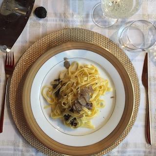 tagliatelle Tuscan truffle