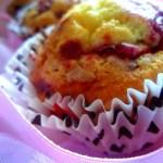 Muffins con lamponi,cioccolato bianco e …..!!