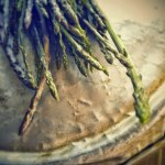 Torta con carciofi ed asparagi selvatici