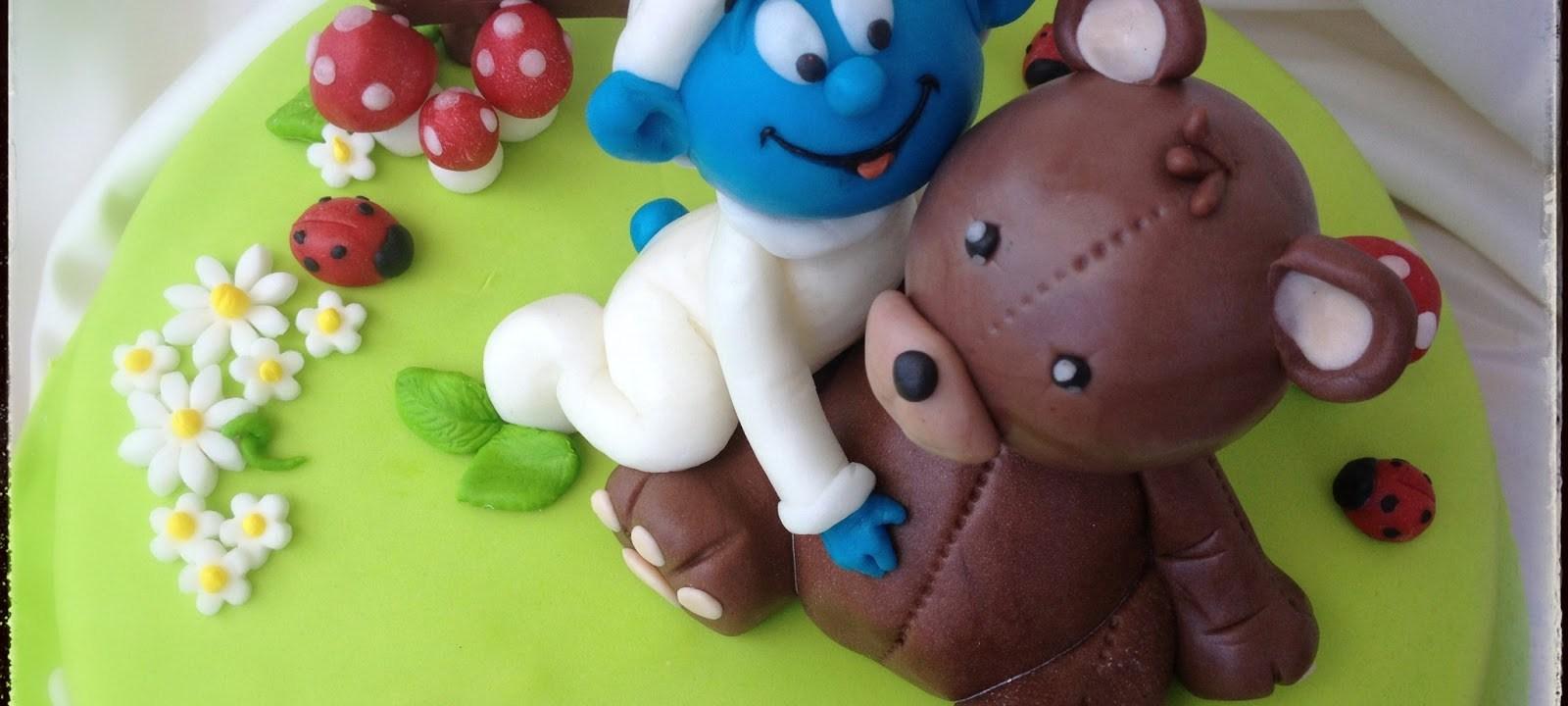 Torta Baby Puffo