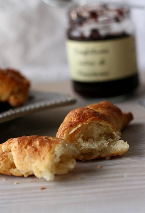 Croissant veloci con e senza glutine