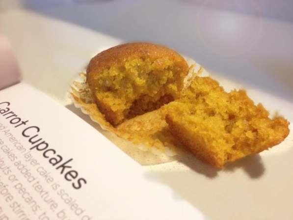 Cupcakes carote