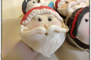 Christmas cupcakes, speziati, alla zucca