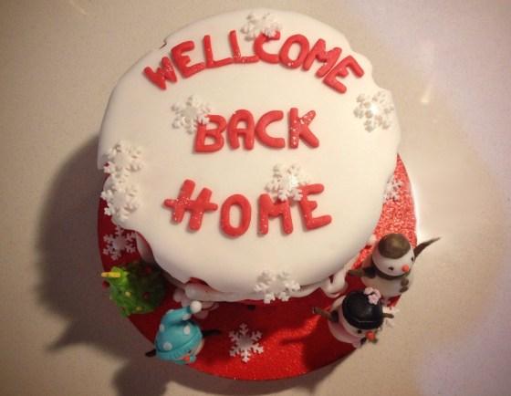 Wellcome back home