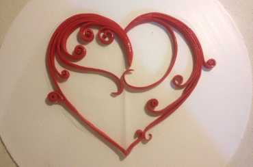 Quilling Heart Tutorial