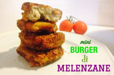 Mini burger di melanzane