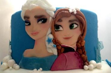 Torta Frozen per Giorgia e Sarah