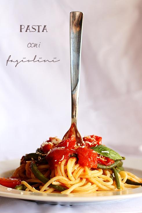 _Spaghetti fagiolini 1