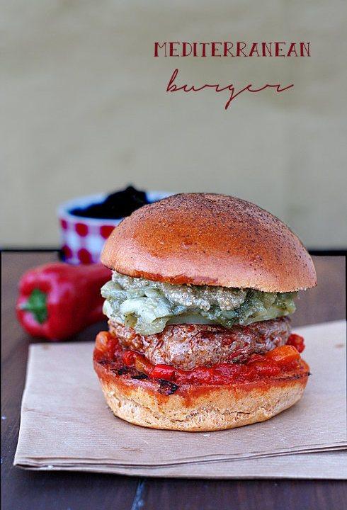 Mediterranean burger per MTC n49