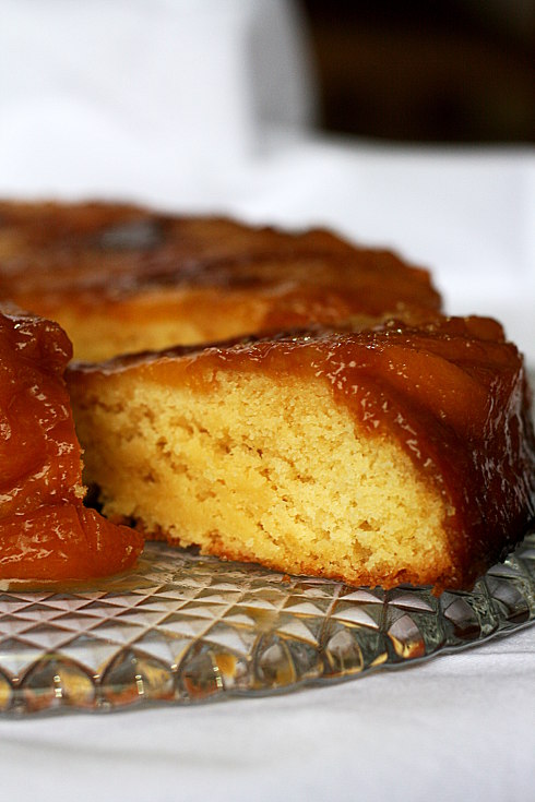 _Upside down peach cake 3