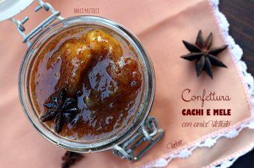 Confettura di cachi e mele con anice stellato