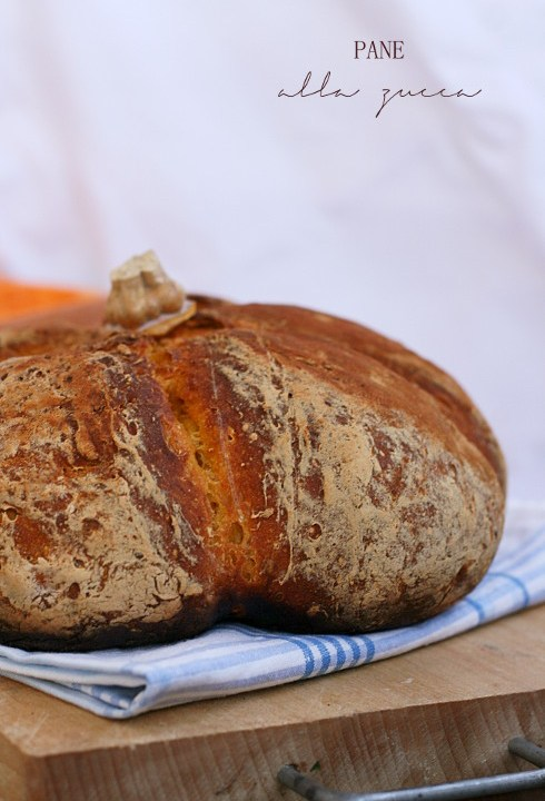 Pane alla zucca senza glutine