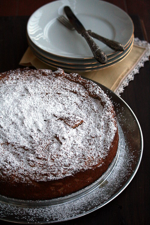 Torta Castagna_