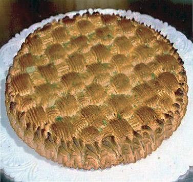 Ricetta della torta delizia alle mandorle  Dolci Siciliani