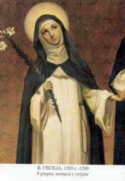blažena Cecilija Cesarini - devica in redovnica