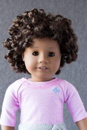 close curly hair