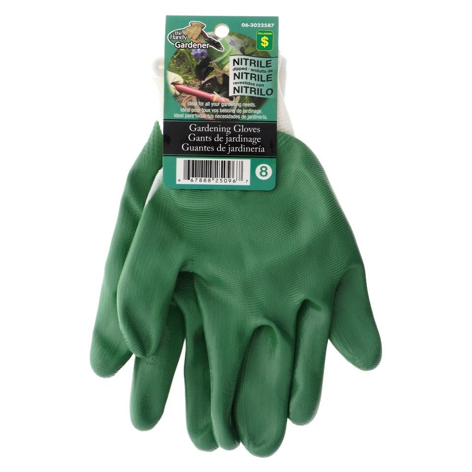 Women S Nitrile Coated Garden Gloves Assorted Colours Dollarama