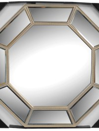 Champagne Octagon Wall Mirror