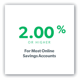 national average online savings account rate