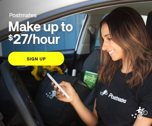 earn money fast with Postmates