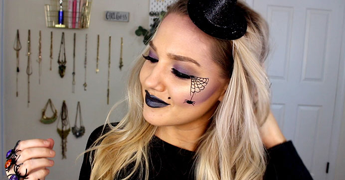 Wickedly Easy Witch Makeup Look