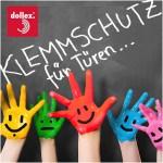 Sicherheit für Kinderfinger mit Klemmschutz