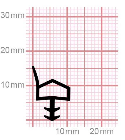 009-11 Zargendichtung für Zimmertüren aus Holz