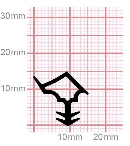 013-03 Dichtungen für Stahlzargen
