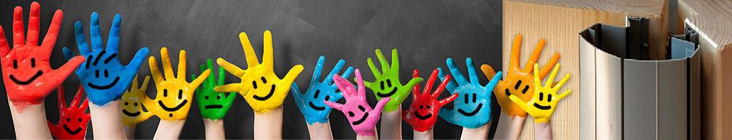 Für Kinderhände Fingerschutz
