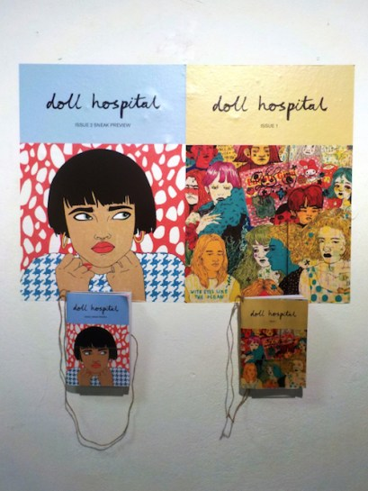 Doll Hospital Journal Issue One and Two at NEFELE Festival, Athens, Greece