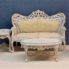 Blue Nursery Chair Rent Covers And Sashes For Cheap Bespaq Furniture From Fingertip Fantasies Dollhouse Miniatures