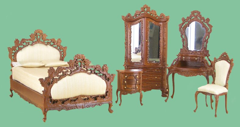 Bespaq Furniture From Fingertip Fantasies Dollhouse Miniatures