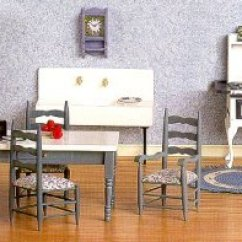 Queen Anne Living Room Sets Wall Murals Uk Dollhouse Diningroom Furniture From Fingertip Fantasies ...