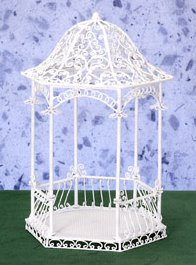 White Wire Gazebos  Trellis Furniture 112 Scale Page 11
