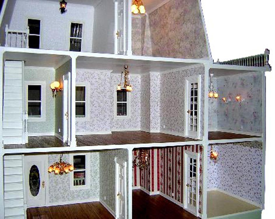 Wiring Dollhouse With Copper Tape