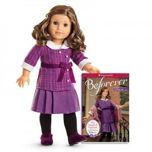 Rebecca doll stock photo