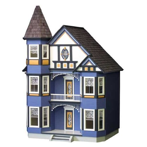 Real Good Toys Miniature Painted Lady Dollhouse