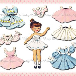 Misc. Illustrators Paper Dolls