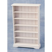 Streets Ahead 6 Shelf Bookcase White
