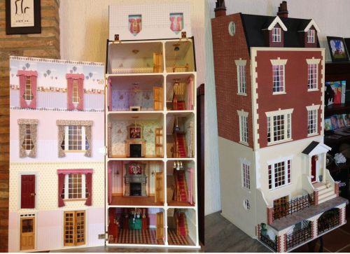 Dolls Houses  Houses  Laurels Dolls House Kit  Unpainted  Dolls House Parade for Dolls